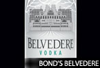 James Bond's Belvedere Vodka