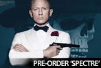 Pre-order SPECTRE on Blu-Ray and DVD