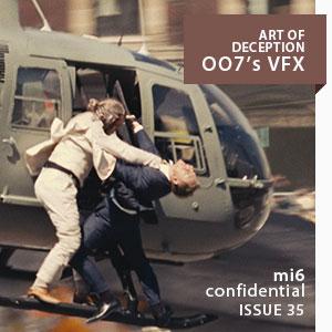 MI6 Confidential Magazine: Art of Deception, 007