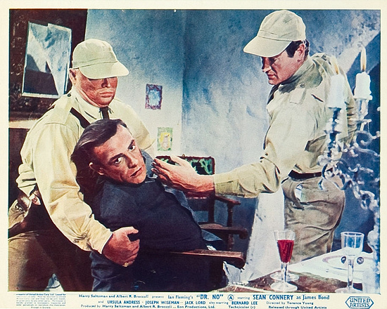 Dr. No lobby card