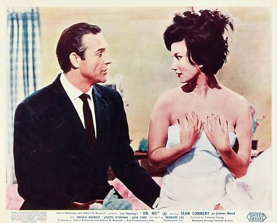 Dr No Lobby Card