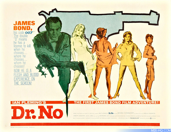 Dr No USA half sheet