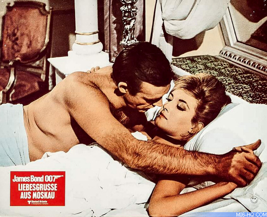 From Russia With Love lobby card