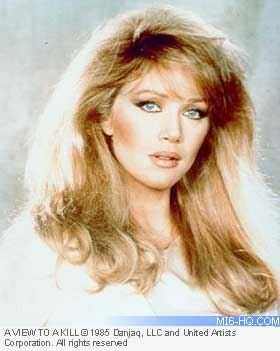 Tanya Roberts as Stacey Sutton in A View To A Kill