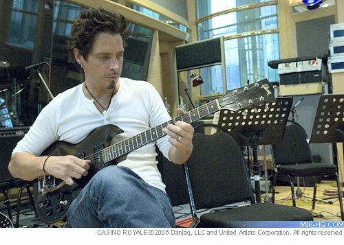 Chris Cornell composing You Know My Name for Casino Royale in 2005