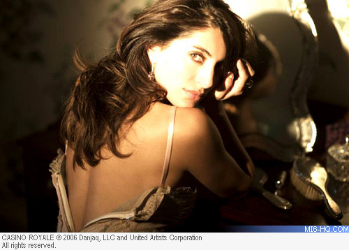 Caterina Murino as Solange in Casino Royale
