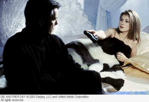 Rosamund Pike as Miranda Frost in Die Another Day