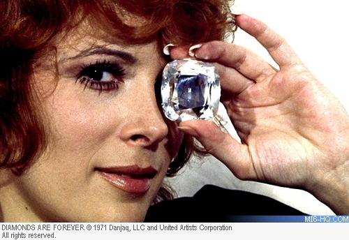 Jill St. John as Tiffany Case in Diamonds Are Forever