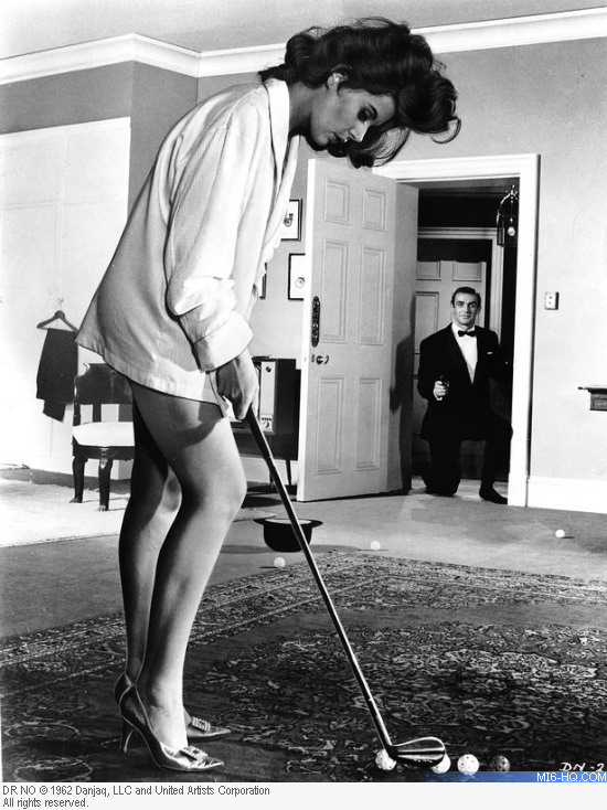 Eunice Gayson as Sylvia Trench in Dr No 1962
