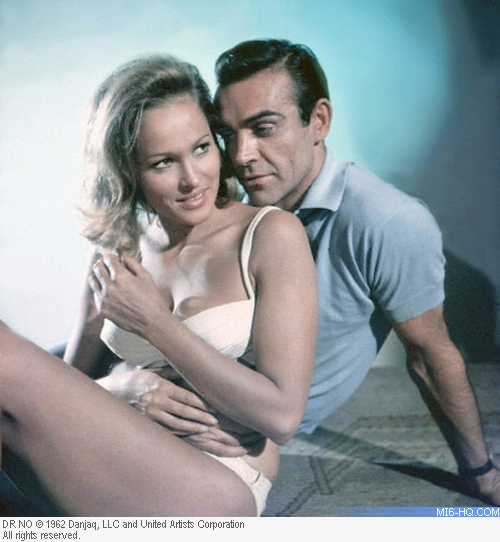Ursula Andress as Honey Ryder in Dr. No