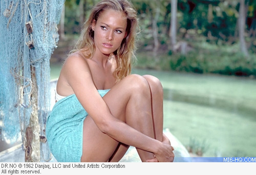 Ursula Andress as Honey Rider