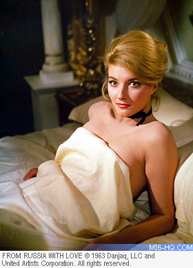 Daniela Bianchi as Tatiana Romanova in From Russia With Love