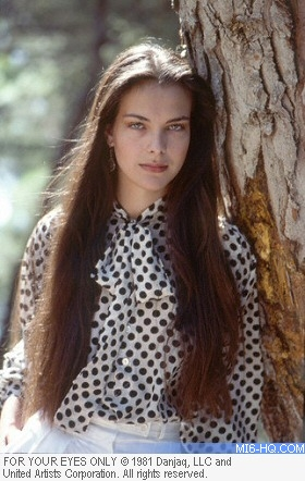 Carole Bouquet as Melina Havelock in For Your Eyes Only