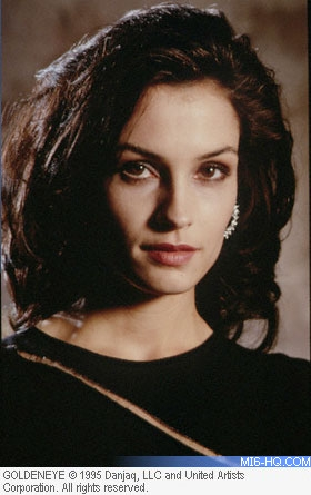Famke Janssen as Xenia Onatopp in GoldenEye