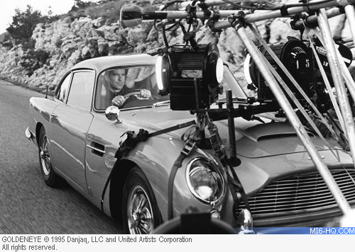 Aston Martin DB5 James Bond 007