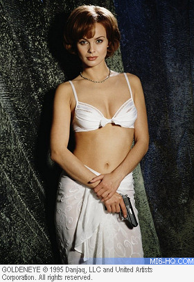 Izabella Scorupco as Natalya Simonova in GoldenEye