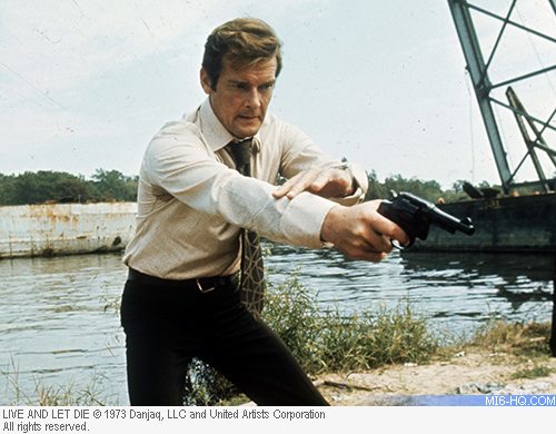 Peter Lamont recounts the boat chase from Live and Let Die