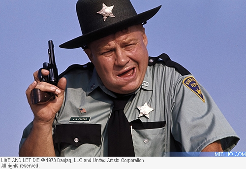Clifton James as Sheriff JW Pepper