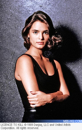 Talisa Soto as Lupe Lamora in Licence To Kill