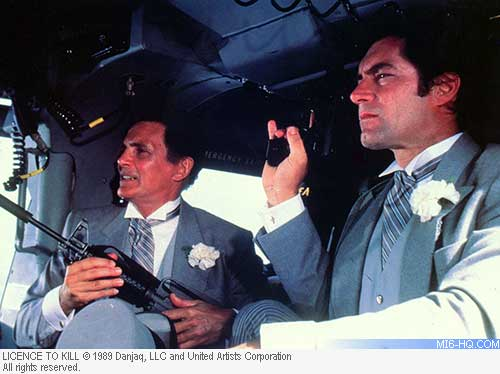 David Hedison in Licence To Kill