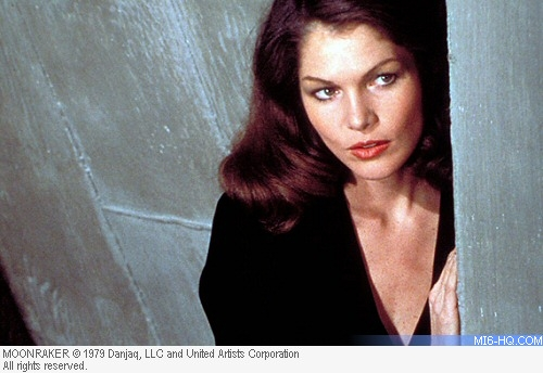 Lois Chiles as Dr. Holly Goodhead in Moonraker