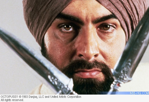 Kabir Bedi as Gobinda in Octopussy