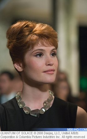Gemma Arterton as Agent Strawberry Fields in Quantum of Solace