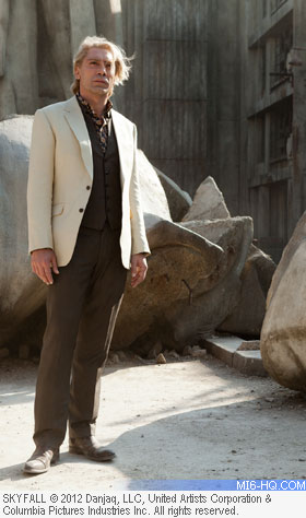 Raoul Silva (Javier Bardem) - MI6 profiles Raoul Silva, the