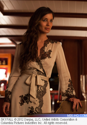Berenice Marlohe as Severine in Skyfall
