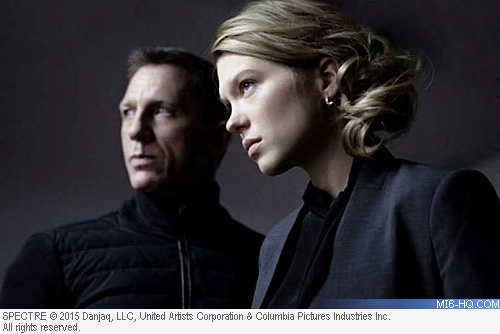 Lea Seydoux as Madeleine Swann in SPECTRE