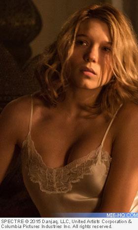 Lea Seydoux as Dr. Madeleine Swann in SPECTRE