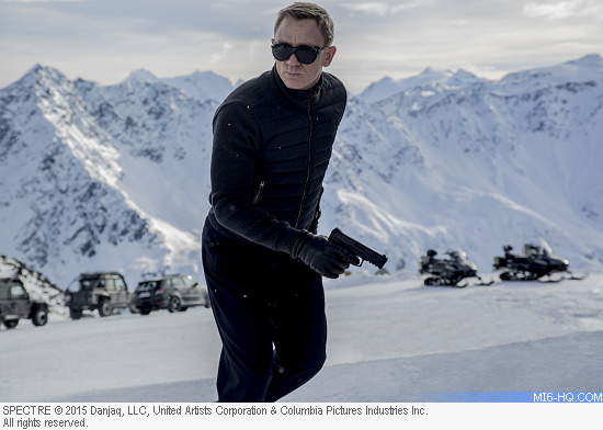 James Bond films SPECTRE in Solden