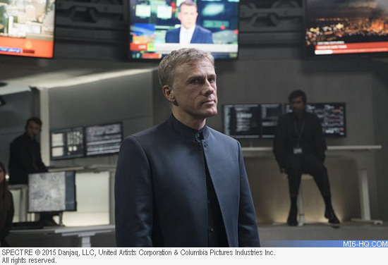 Christoph Waltz as Ernst Stavro Blofeld in SPECTRE