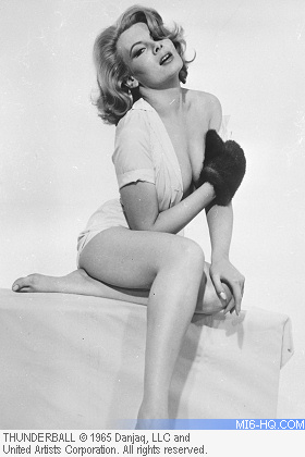 Molly Peters as Patricia Fearing in Thunderball