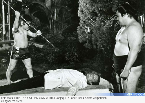 Herve Villechaize as Nick Nack in The Man With the Golden Gun