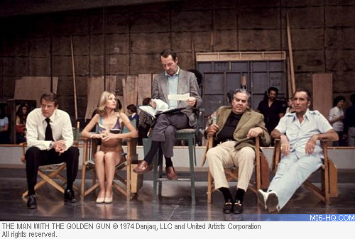 The Cast of The Man With The Golden Gun
