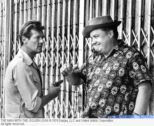Clifton James as Sheriff J.W. Pepper in The Man With The Golden Gun
