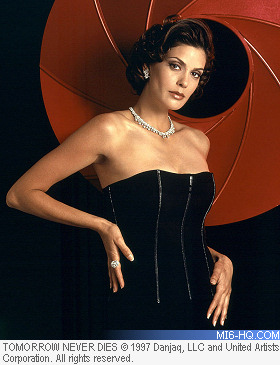 Teri Hatcher as Paris Carver in Tomorrow Never Dies