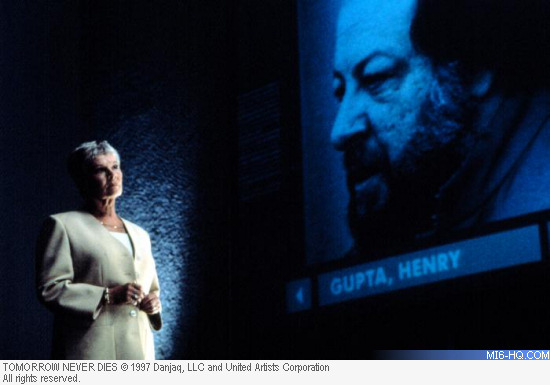 Ricky Jay as Henry Gupta in Tomorrow Never Dies