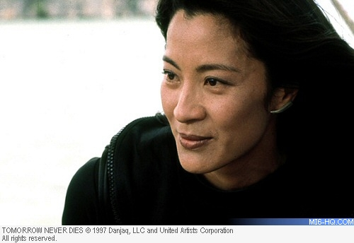 Michelle Yeoh as Wai Lin in Tomorrow Never Dies