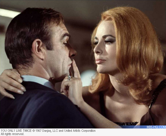 Karin Dor as Helga Brandt in You Only Live Twice