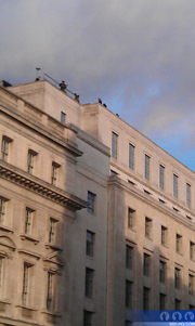 Skyfall Whitehall Rooftop Filming :: Skyfall (2012) :: The 23rd