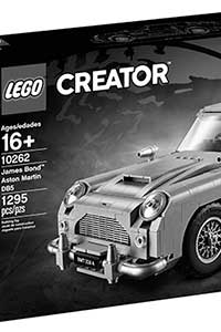 Lego DB5 Revealed