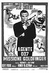 Win Classic Goldfinger Poster and Photo Set