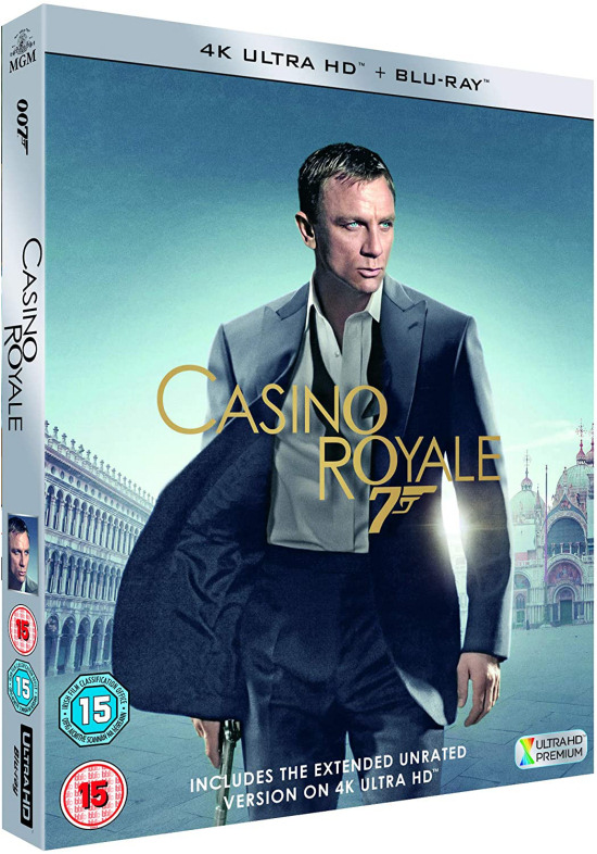 Daniel Craig James Bond UHD 4K Blu-Ray