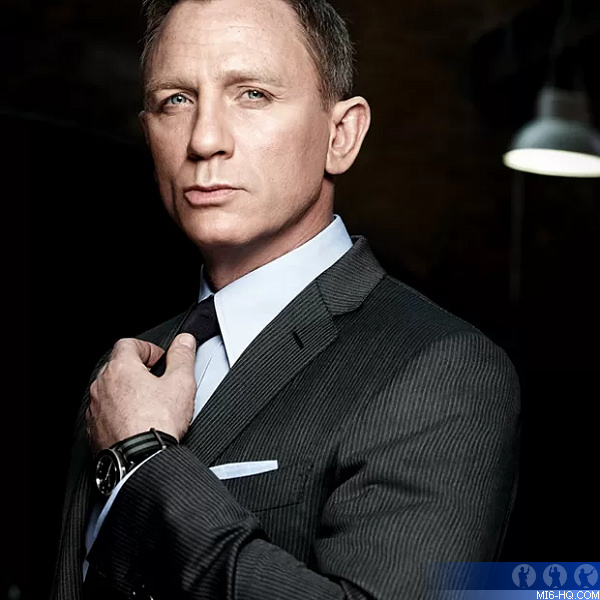 Daniel Craig as James Bond 007 in Bond 25