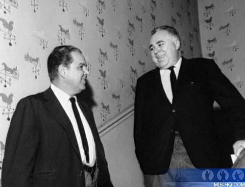Albert R. 'Cubby' Broccoli and Harry Saltzman