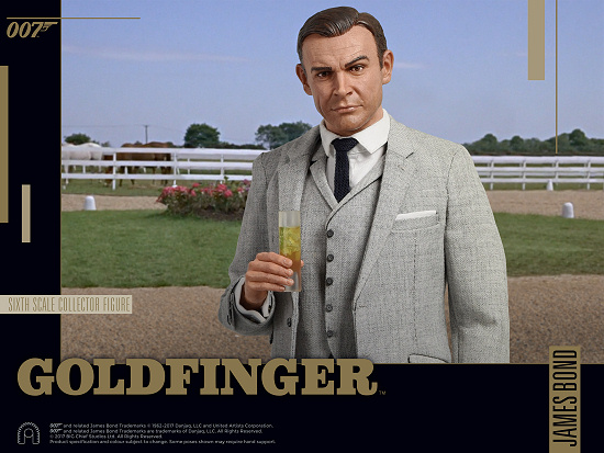 Big Chief Sean Connery Goldfinger collectable figure