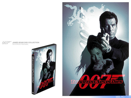 James Bond DVD packaging concept design