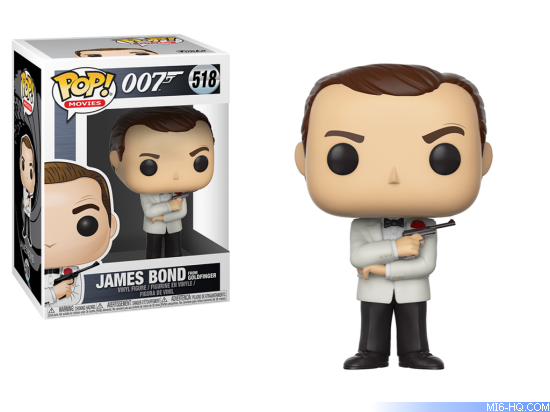 Funko Pop James Bond bobblehead toys
